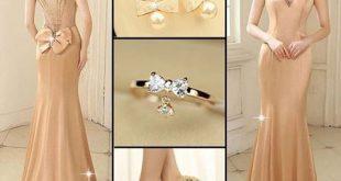 احلى فساتين خطوبة رائعة , اجمل فستان خطوبة خقق وجنان 2020