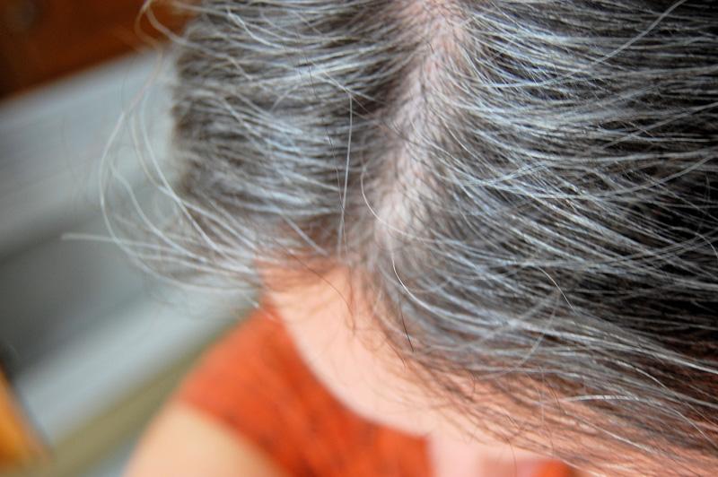 صورة اسباب الشعر الابيض , ظهور الشعر الابيض