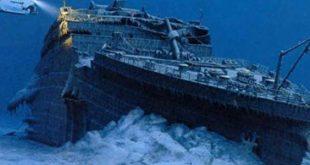 صورة اين غرقت سفينة التايتنك , غرق ار ام اس تيتانيك