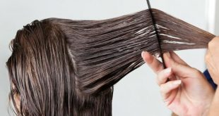 صورة طريقة عمل الكيراتين للشعر, الكيراتين لفرد الشعر